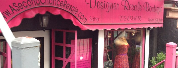 A Second Chance Designer Resale Boutique is one of To do in NYC with Ciccio.