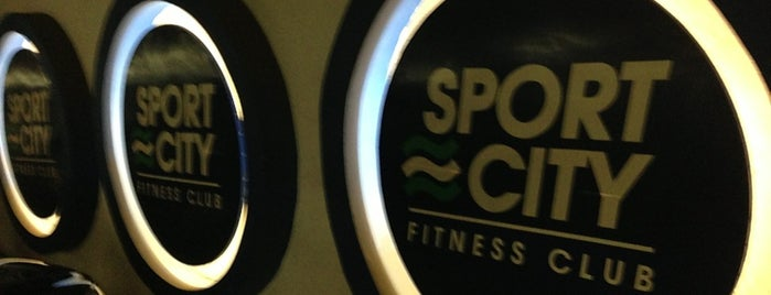 Sport City Fitness Club is one of Orte, die Viviana gefallen.