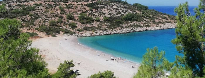 Τραχήλι (Trachili Beach) is one of Greece Islands.