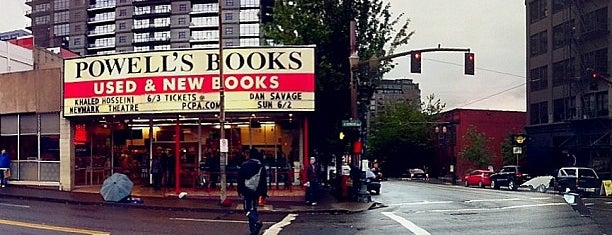 Powell's City of Books is one of PDX - Where I Been.