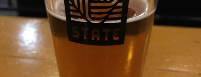 Liquid State Brewing Company is one of Bros Trip.