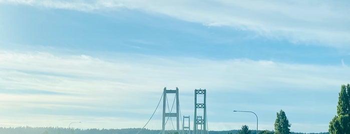 Tacoma Narrows Bridge is one of สถานที่ที่ Melissa ถูกใจ.