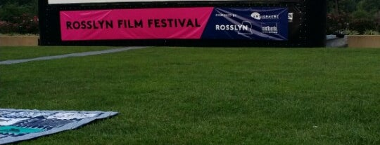 Rosslyn Outdoor Film Festival is one of Summer in DC.