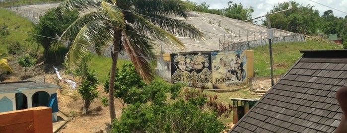 Bob Marley Mausoleum is one of Jamaica June 2014.