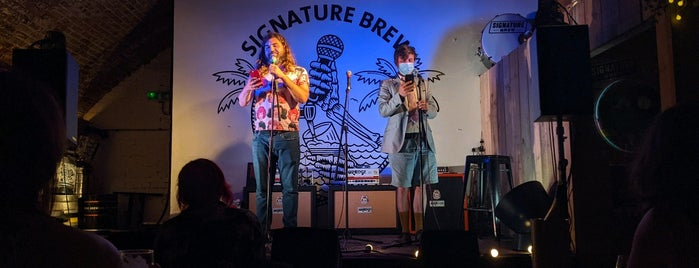 Signature Brew Taproom & Venue is one of London's Best for Beer.