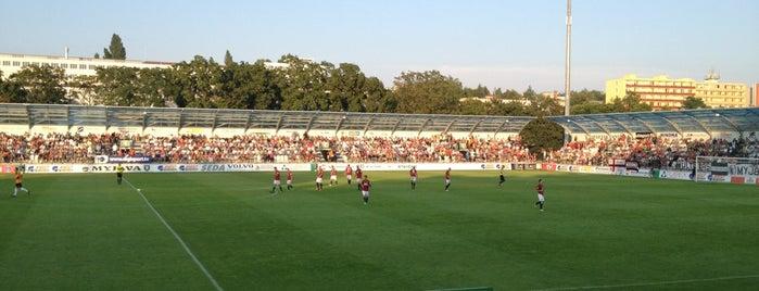 Štadión Spartak Myjava is one of Prvoligové futbalové štadióny.