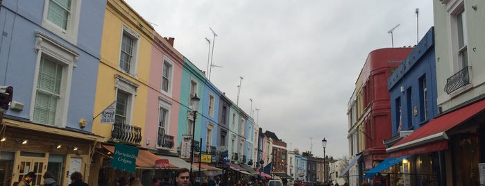 Portobello Road Market is one of Portobello.