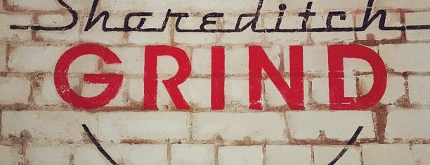 Shoreditch Grind is one of Creative tea rooms & coffee places.