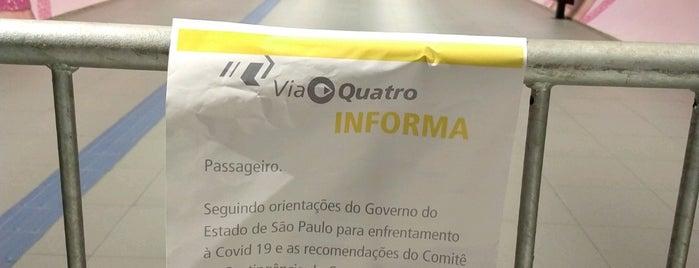 Estação Higienópolis - Mackenzie (Metrô) is one of Sao Paulo.