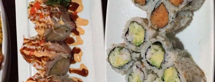 Asahi Sushi is one of Locais curtidos por Christa.