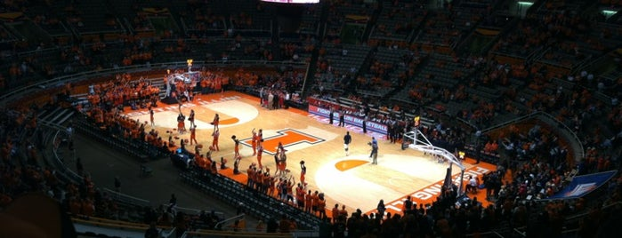 State Farm Center is one of Big Ten Men's Basketball Arenas.