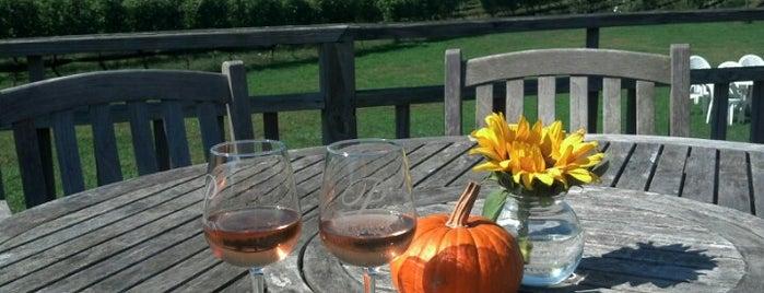 Paumanok Winery is one of Kev & Ang's North Fork Wedding Weekend.