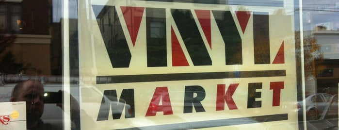 Melrose Vinyl Market is one of seattle. awesome..