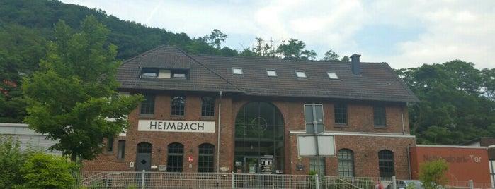 Bahnhof Heimbach (Eifel) is one of Bahnhöfe im AVV.