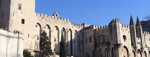 Palais des Papes is one of Avignon adresses.