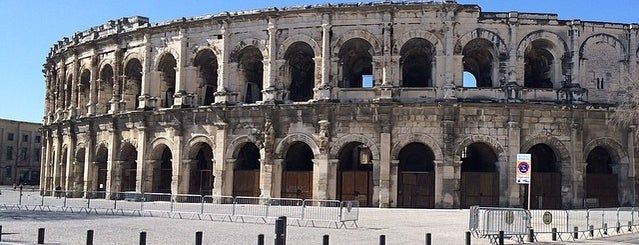 Arènes de Nîmes is one of Gard adresses.