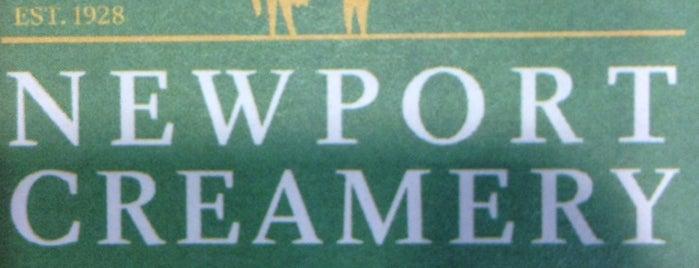 Newport Creamery is one of สถานที่ที่ Michael ถูกใจ.