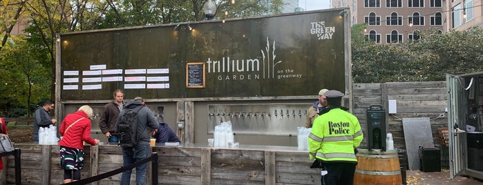 Trillium Garden On The Greenway is one of Lugares favoritos de Christopher.