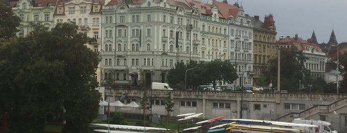 Mamaison Hotel Riverside Prague is one of Orte, die Rainer gefallen.