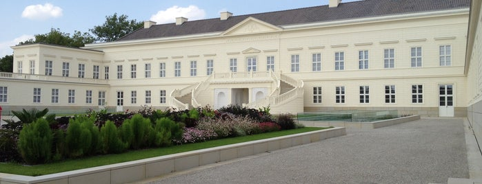 Schloss Herrenhausen is one of Hanover.