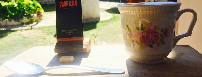 FRONTERA Artisan Food & Coffee is one of Orte, die Alan gefallen.