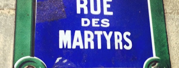 Rue des Martyrs is one of Paris.