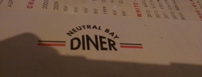 Neutral Bay Diner is one of Neutral Bay restaurants/bars/cafes.