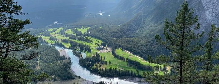 Tunnel Mountain Summit is one of Alberta.
