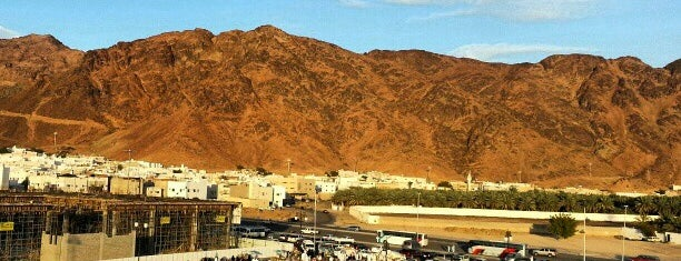 Uhud Mountain is one of Orte, die Engin gefallen.