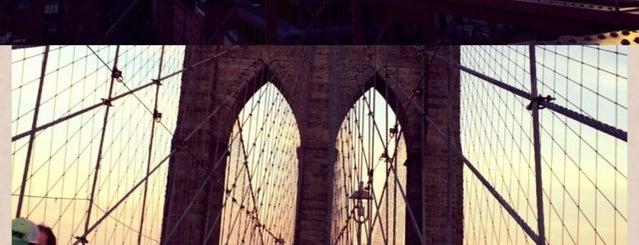 Brooklyn Bridge Promenade is one of Nova York.
