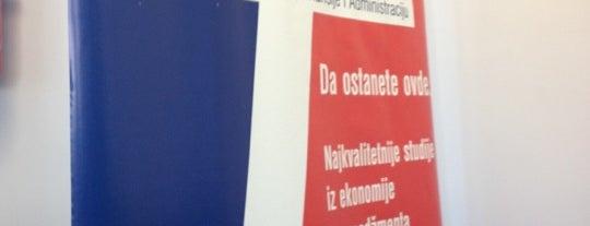 FEFA - Fakultet za ekonomiju, finansije i administraciju is one of สถานที่ที่ Tijana ถูกใจ.