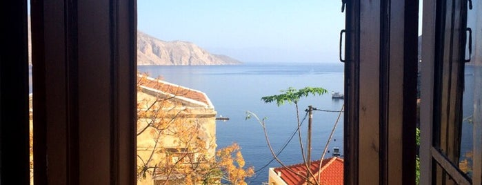 Taxiarchis Apartments is one of Best Spots of Symi.