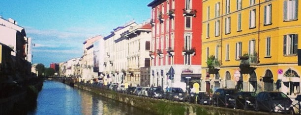 Naviglio Grande is one of Milano.