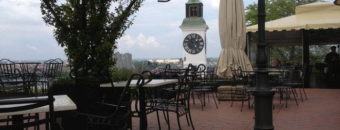 Petrovaradinska terasa is one of NOVI SAD best place.
