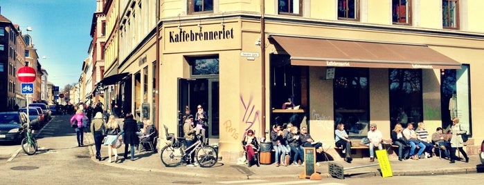 Kaffebrenneriet is one of Oslo // Norway.