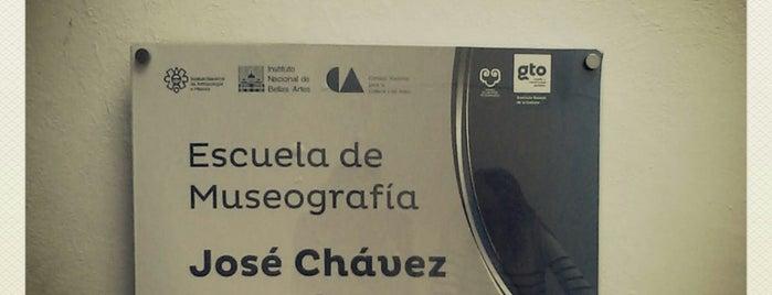 Escuela de Museografia Jose Chavez Morado is one of Alvaro 님이 저장한 장소.