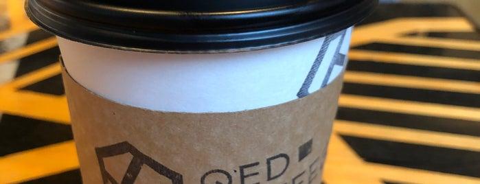QED Coffee is one of สถานที่ที่ Ben ถูกใจ.