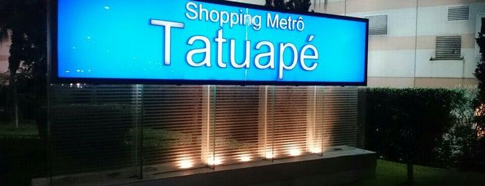 Shopping Metrô Tatuapé is one of Shoppings.