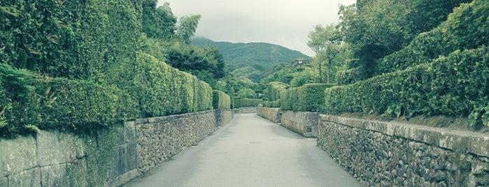 知覧武家屋敷庭園 is one of Tempat yang Disukai Aya.