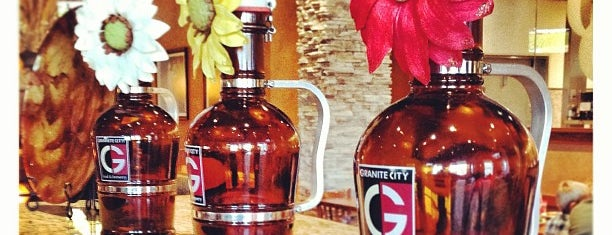 Granite City Food & Brewery is one of Indiana Breweries.