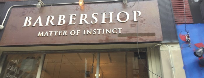 Matter Of Instinct Barbershop is one of New York.