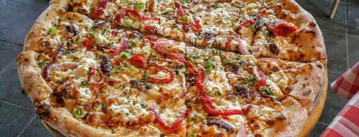 American Flatbread is one of Aaron's Favorite Pizzerias in the World.