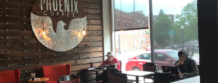 Phoenix Coffee is one of Cleveland.