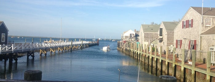 Straight Wharf is one of Waterfront Dining on Nantucket.
