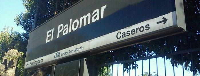 Estación El Palomar [Línea San Martín] is one of Lugares favoritos de Daniela.
