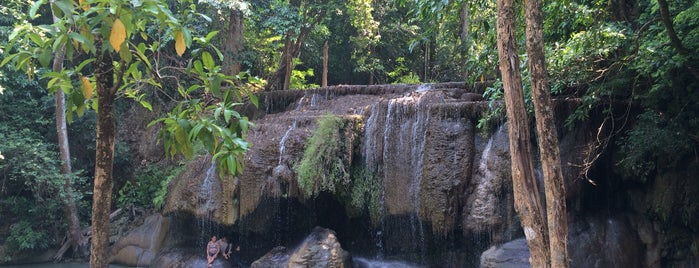 Erawan Waterfall is one of Crazy Places.