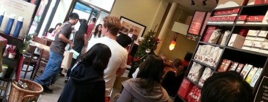 Starbucks is one of Lieux qui ont plu à Jason.