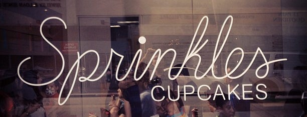 Sprinkles Cupcakes is one of Going Back To Cali...Again.