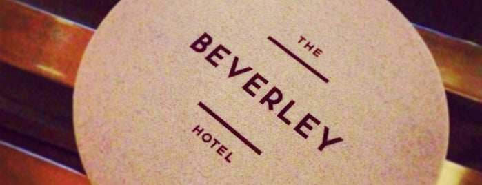 Beverley Hotel is one of สถานที่ที่ Andrew ถูกใจ.