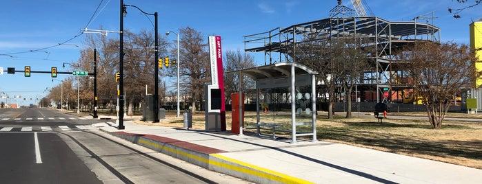 OKC Streetcar - Art Park is one of Transit: OKC Streetcar 🚊.